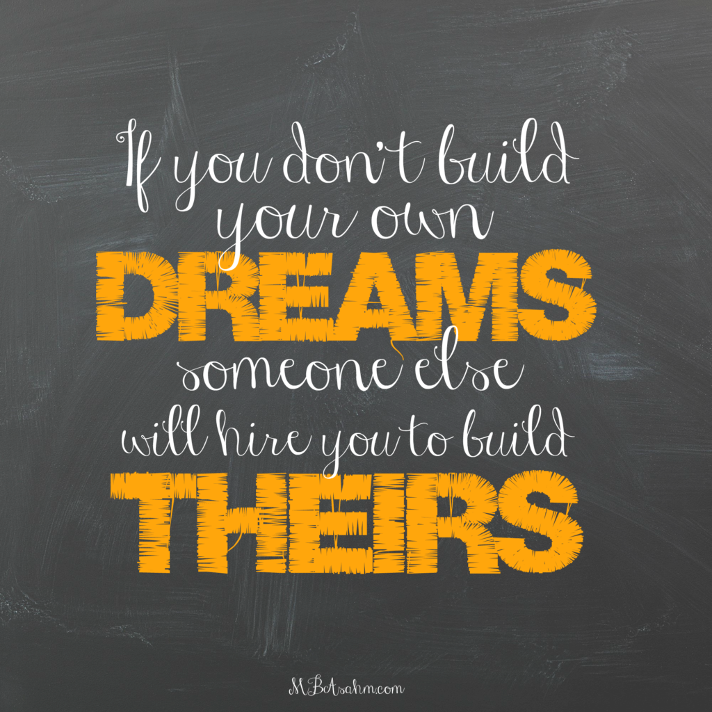inspiration for entrepreneurs and small business owners!