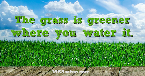 Grass Is Always Greener Quotes: 18 Inspirational Quotes To Tell Yourself Everyday