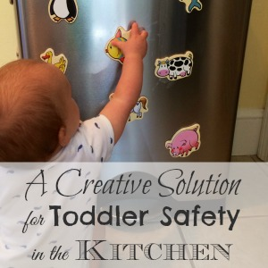 A Creative Solution for Toddler Safety in the Kitchen