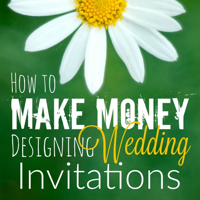 If you're looking for a creative way to make money on the side, you should give wedding invitations a shot! They're a great way to make money from your photography or graphic design. Check out this post for a step-by-step guiding on getting started.
