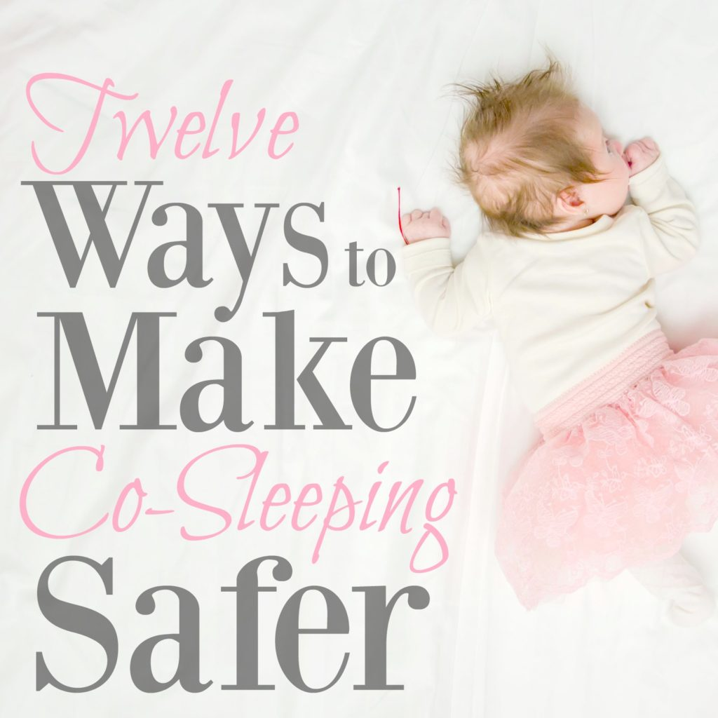 Knowing how to co-sleep with your baby is really important...especially if it's the only way for the two of you to get sleep! Follow these steps to make sure your co-sleeping arrangement is as safe as it can be.