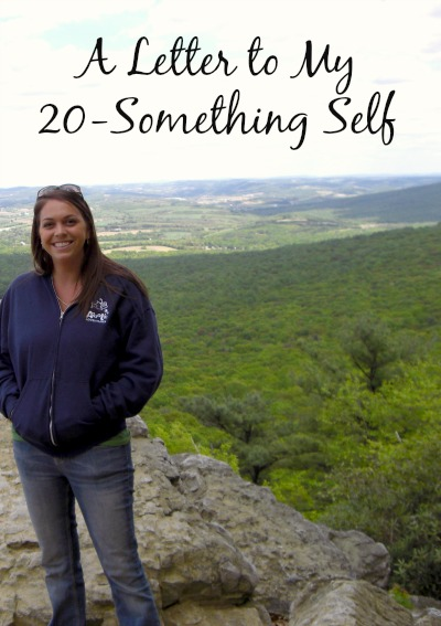 A Letter to My 20-Something Self