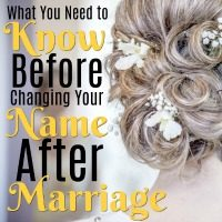 What You Need to Know Before Changing Your Name After Marriage