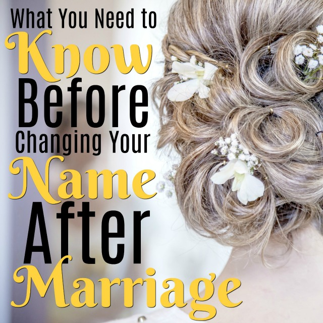 What You Need To Know Before Changing Your Name After