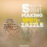 5 Ways to Start Making Money on Zazzle