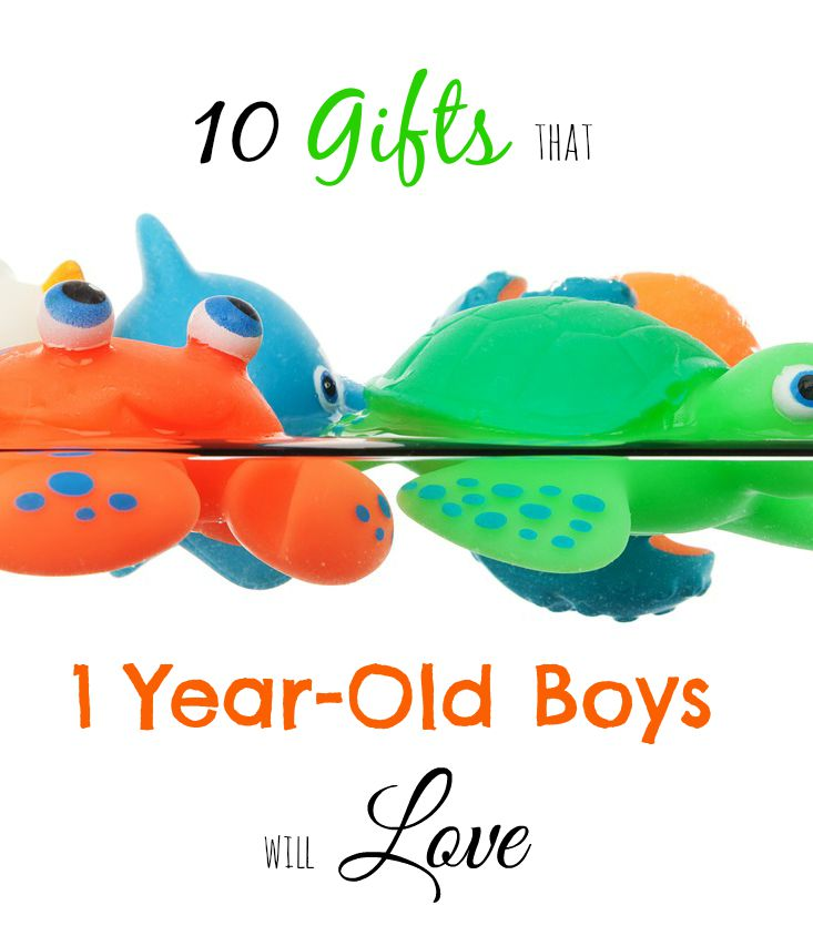 Finding gifts for a 1-year old boy is harder than you think! This list is full of things that my little guy LOVED.