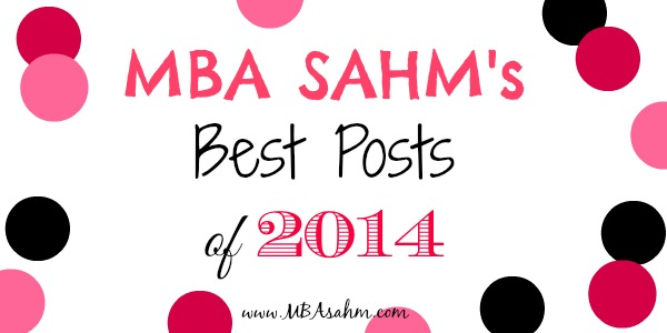 MBA SAHMs Best Posts of 2014