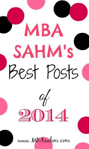 MBA SAHMs Best Posts of 2014