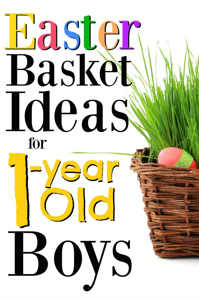 These are the best Easter basket ideas for 1-year old boys! This is such a great year, so these gift ideas will make the day even more enjoyable!