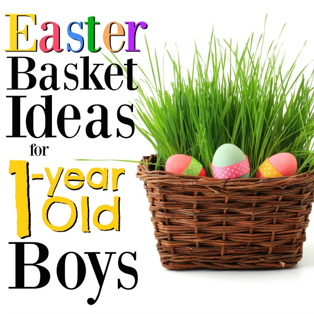 These are the best Easter basket ideas for 1-year old boys! It's such a fun year, so these gift ideas will help make it perfect!