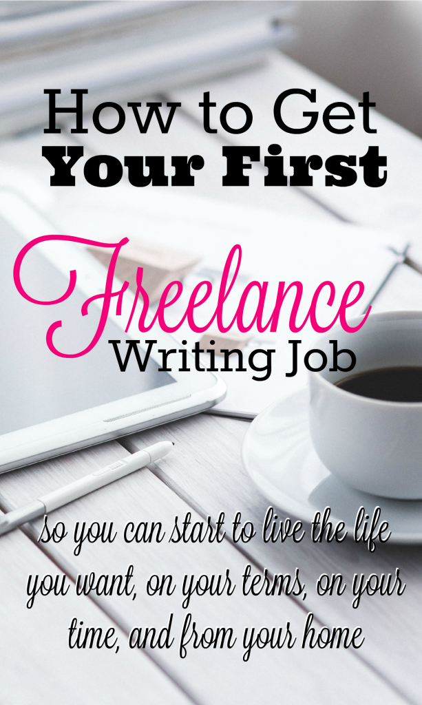 Freelance writing is the perfect way to transition careers and start working from home...and you can do it with any background! Here are the steps to take to land your first freelance writing job.