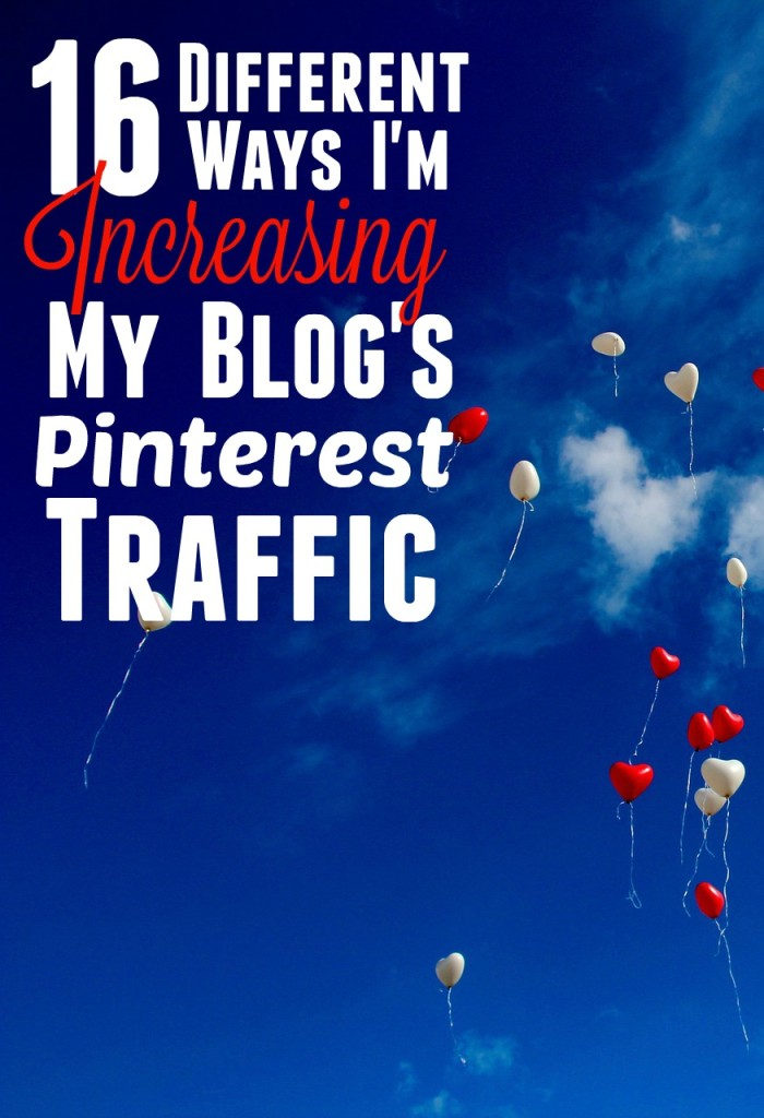 Pinterest is so, so, so important for blog traffic, it's impossible to ignore! These are all the things I'm doing to increase my blog's Pinterest engagement.