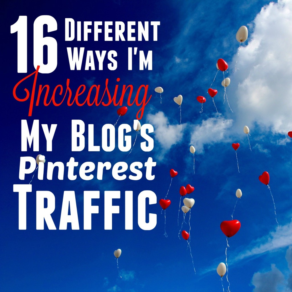 So much of my blog's traffic comes from Pinterest that I'm constantly trying to find new ways to grow my following and increase repins. Click through to find out exactly what I'm doing these days!