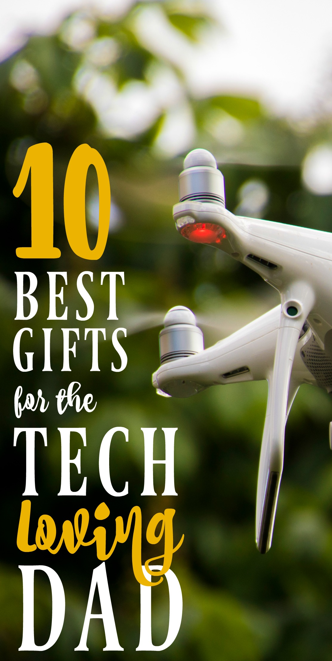 If you're looking for gift ideas for Father's Day, check out this list of tech gifts for dad!