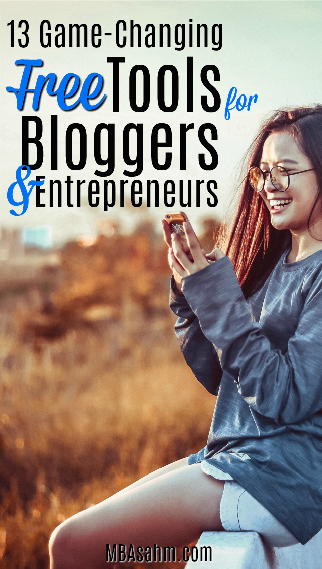 These game-changing free online tools are perfect for bloggers and entrepreneurs that don't have a ton of money to spend on resources.