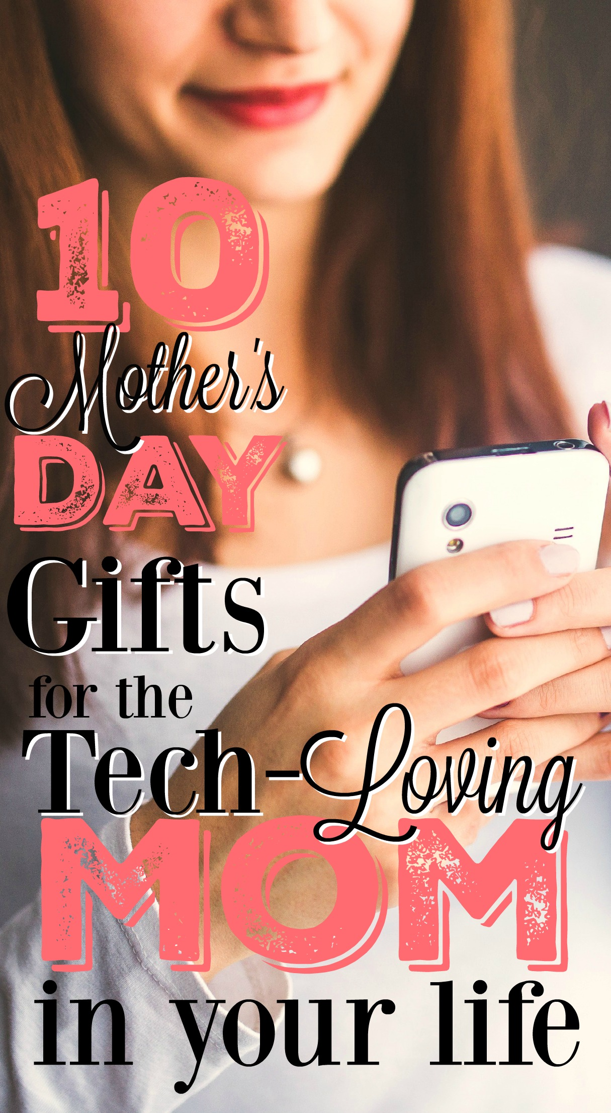 If you're looking for technology-based gift ideas for Mother's Day, look no further! This list will help you find the perfect tech gift for Mom.