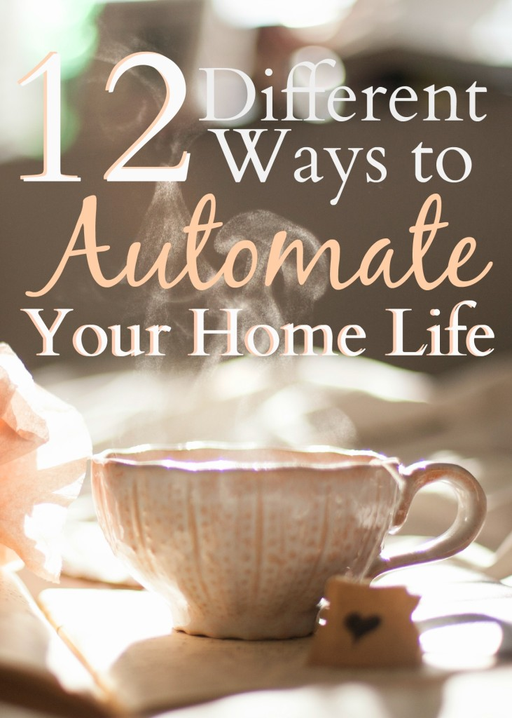 Automation is the absolute best way to save tons of time, money, and frustration. Click through to check out 12 different ways that you can automate your home life!