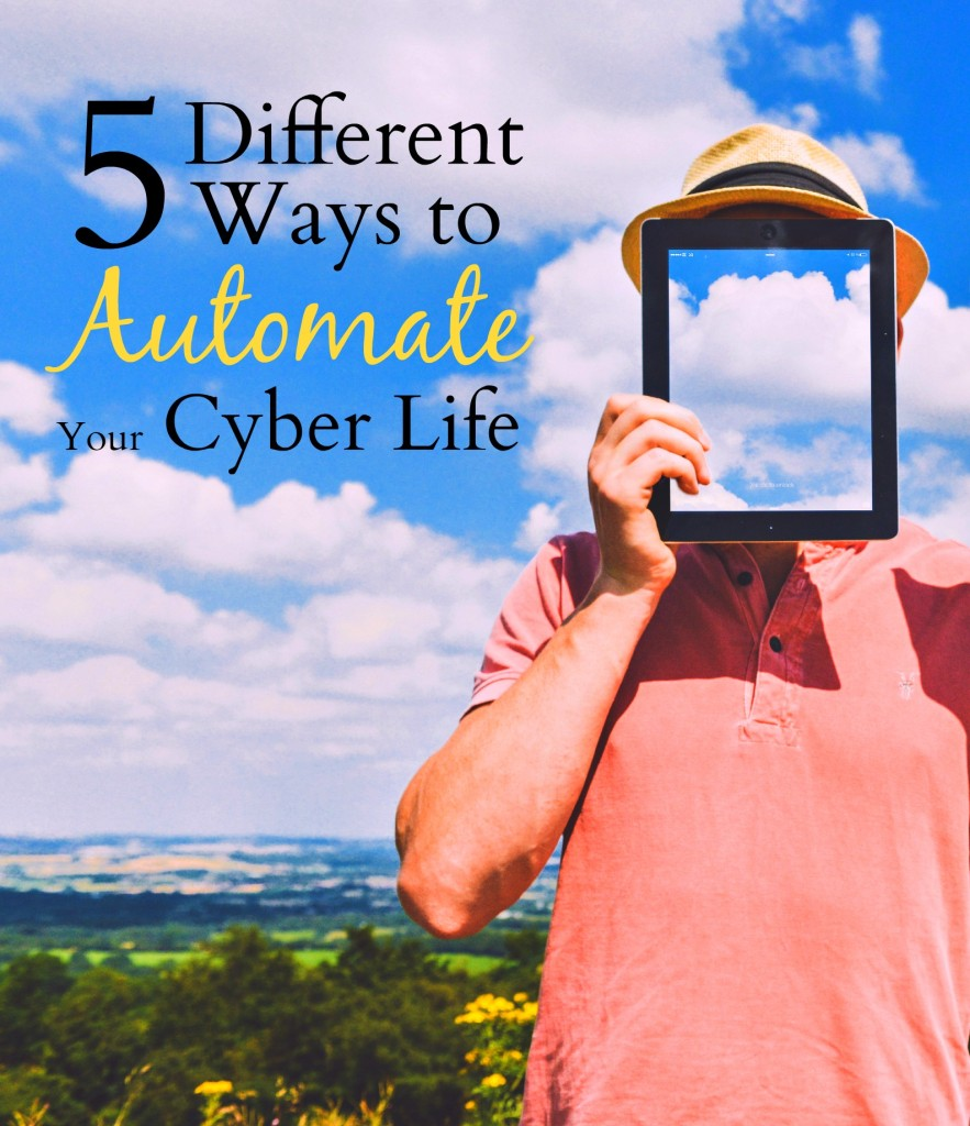 Automation is the absolute best way to save tons of time, money, and frustration. Click through to check out 5 different ways that you can automate your digital life!
