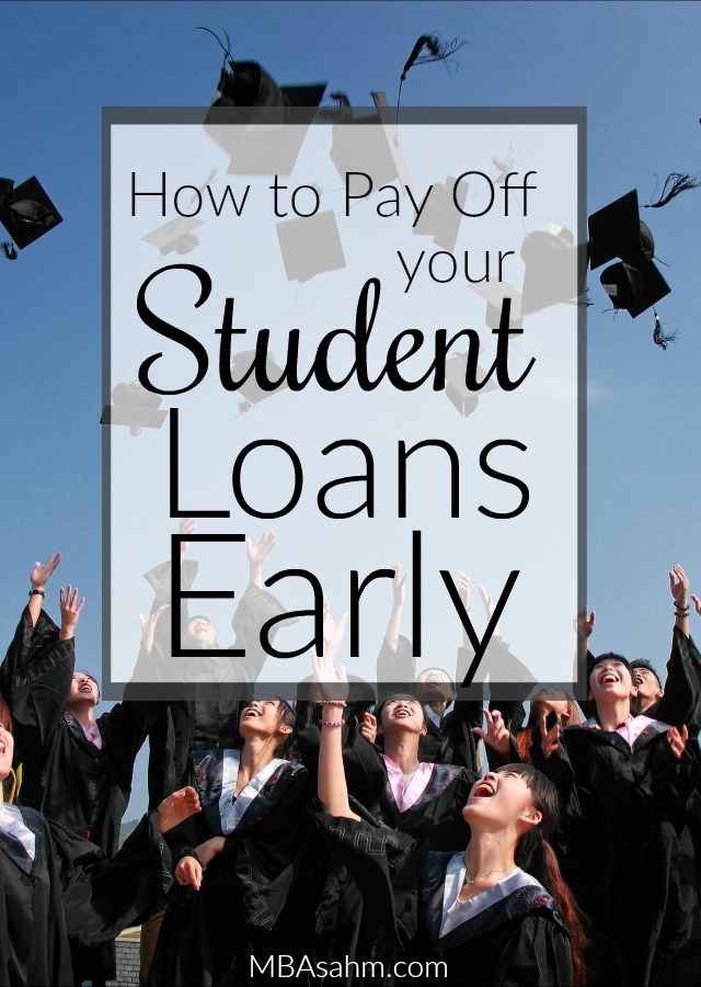If you want to get out of debt, you need to start with paying off your student loans.  Luckily, there are a lot of things you can do to pay off your loans and start living financially free!