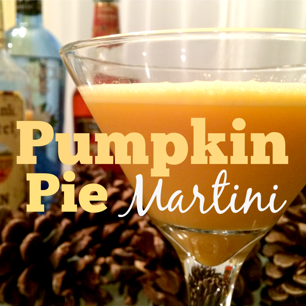 The holiday cocktail is perfect for Halloween and Thanksgiving, and that's about the only time you can get the ingredients, so enjoy it while you can!