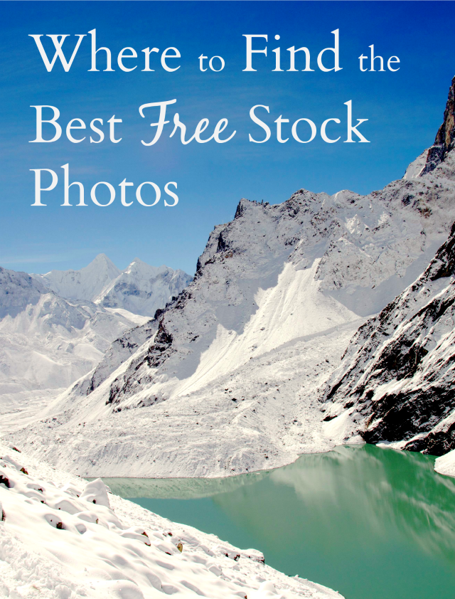 Where to find free stock photos for your blog or website
