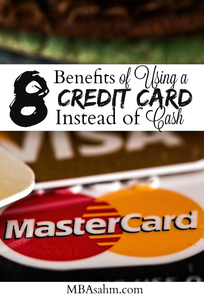 Using a credit card instead of cash can have a huge positive impact on your personal finances. You just need to do it the right way! Here are the reasons you should be using a credit card instead of cash.