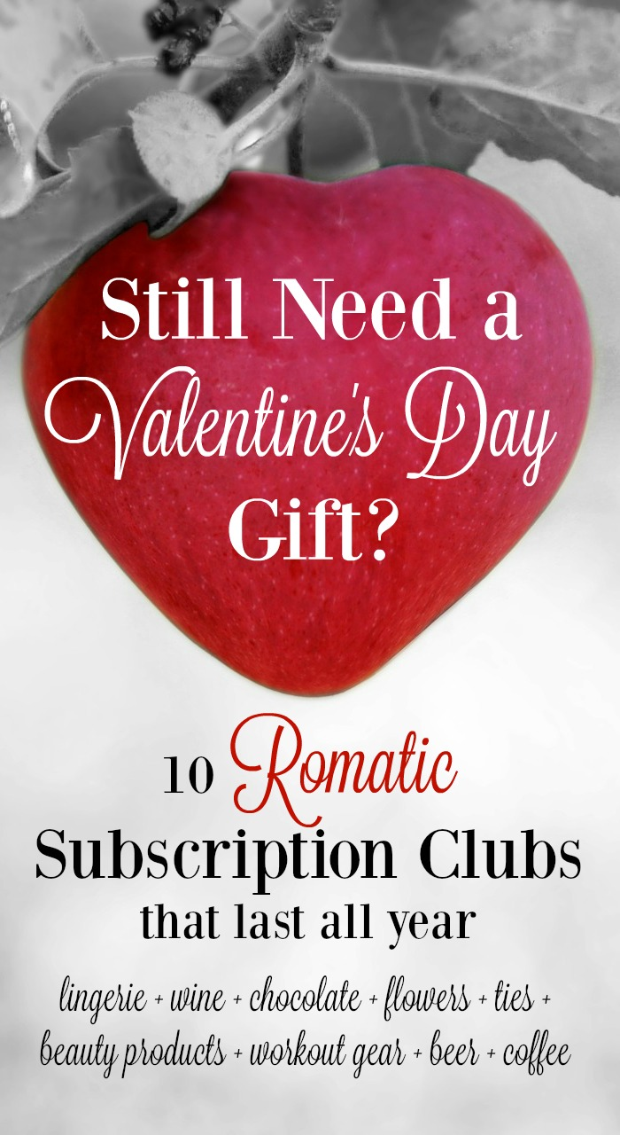 Looking for a unique Valentine's Day gift? Check out these romantic subscription club ideas that are sure to surprise your Valentine!