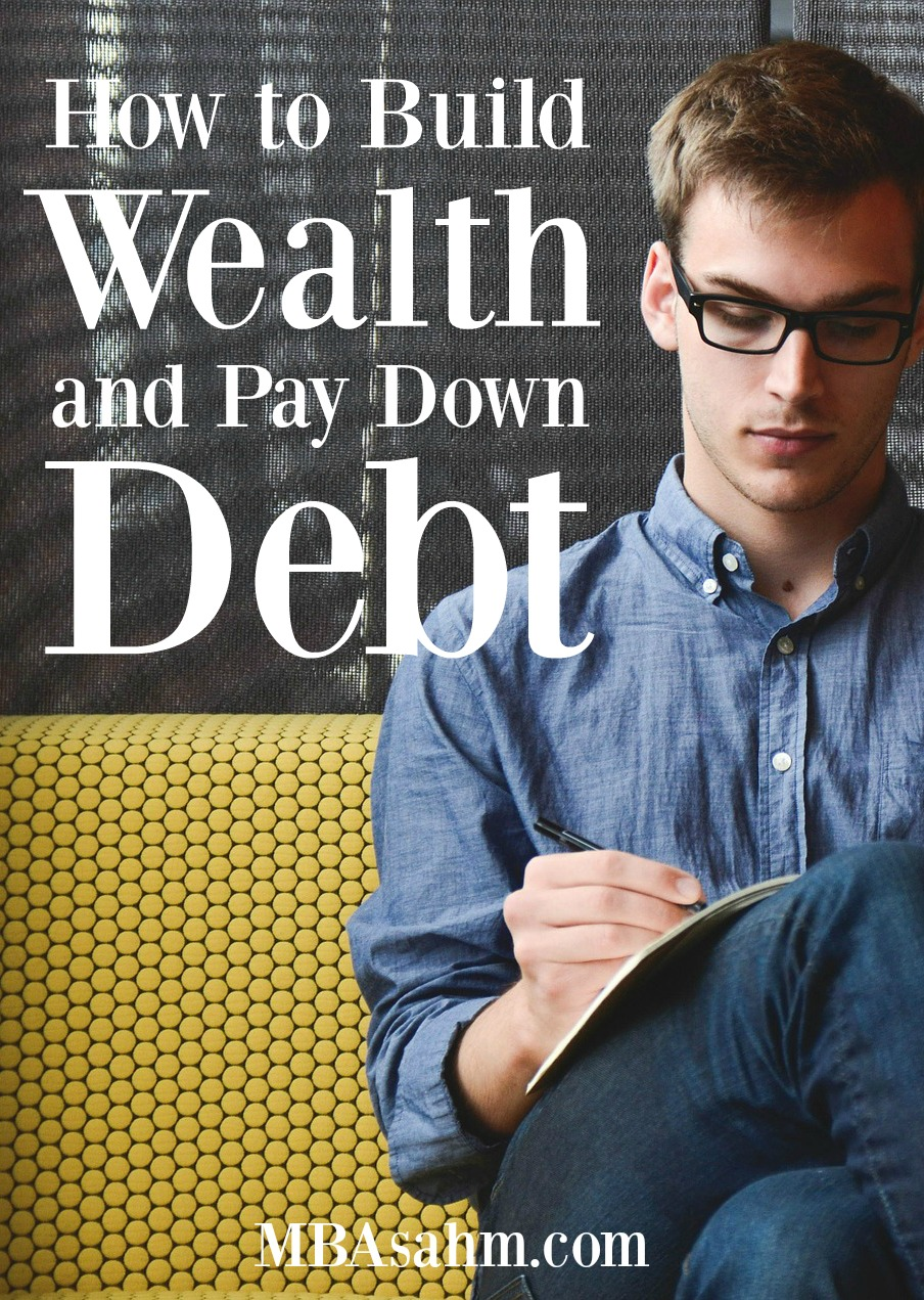 Buildling wealth and paying down debt is not nearly as hard as we all think it is. We just have to make the right moves!