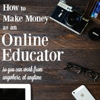 There are so many ways to make money as an online educator nowadays! And if you do it right, they pay way more than anything in a classroom.