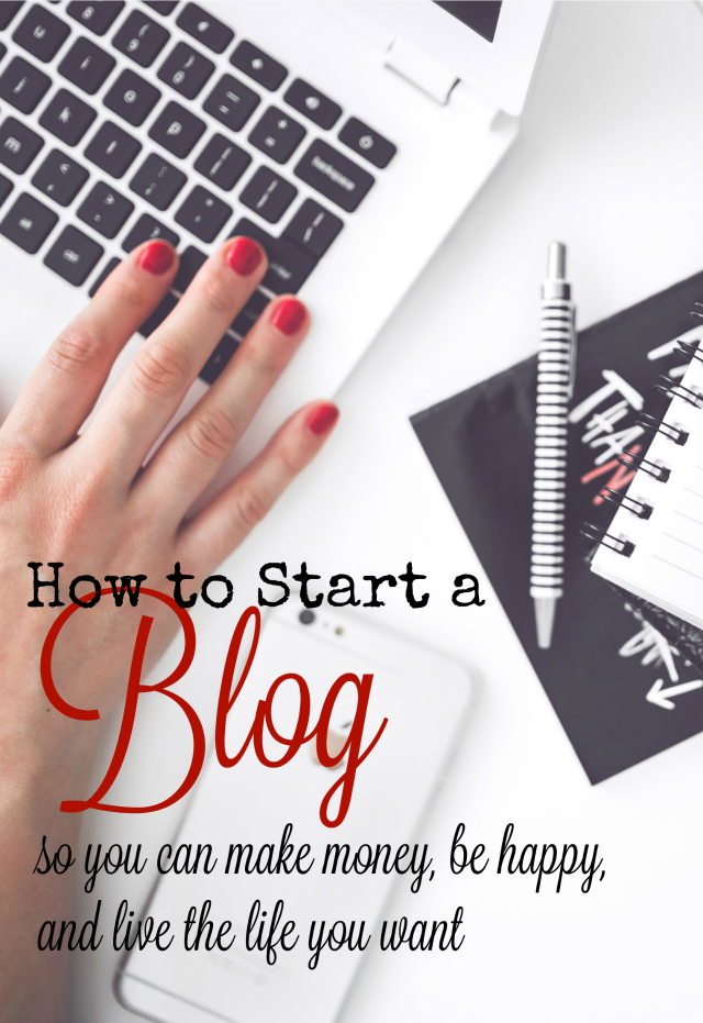 A blog has the ability to give you financial freedom, while still staying home with your kids. If you've considered starting on in the past, now may be the perfect time to do it! Use this post to help get started.