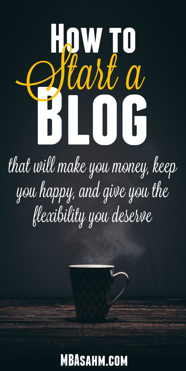 How to Start a Blog - Starting a blog is one of the best things you can do for your financial freedom and well-being, so take the first step! This post will walk you through exactly how to get started.