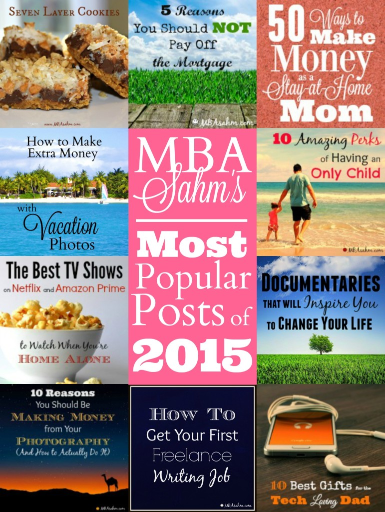 What a fabulous year 2015 was! These were the popular posts according to my fabulous readers. Thanks for such a great year!