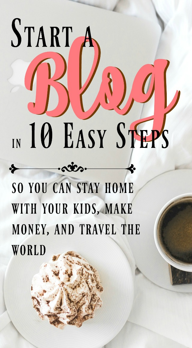 10 steps is all it takes to start the blog of your dreams and completely change your life! Check out this post to find out exactly what you need to do to get started.