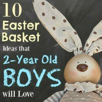 Looking for Easter basket ideas for your 2-year old boy?? These are the winners in our house!