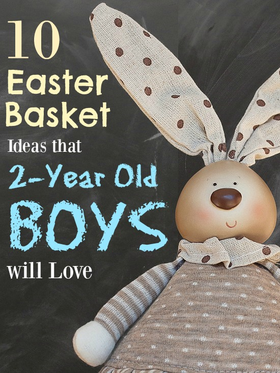 Still trying to come up with gift ideas for your 2-year old boy's easter basket? Here's what's popular in our house right now (and what the Easter Bunny will be leaving this year;-))!