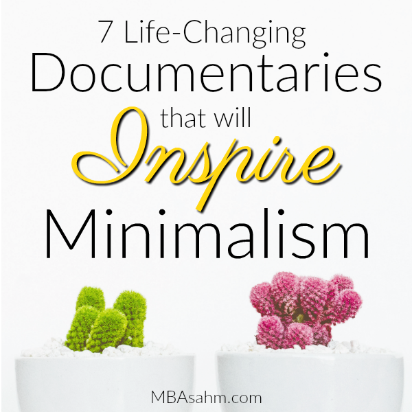 These minimalism documentaries will inspire you to completely change your life and start living simply! From clothing and happiness to consumerism and life-style choices, each one of these simple living documentaries will impact you in a different way. You can find these minimalist documentaries on Netflix, Amazon Prime, or HBO, so there's something for everyone!