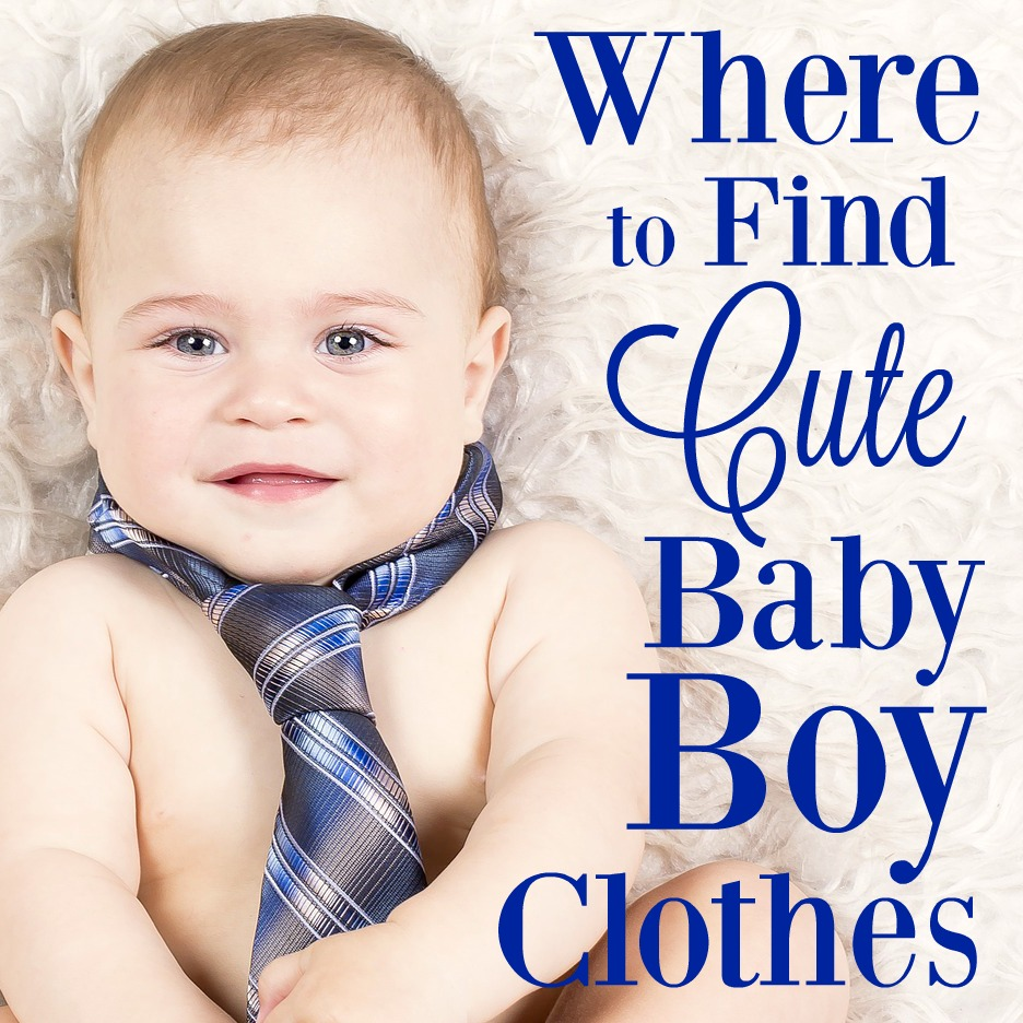 If you're wondering where to find cute baby boy clothes, this list is for you! These places have adorable baby boy clothes for every occasion you can think of.