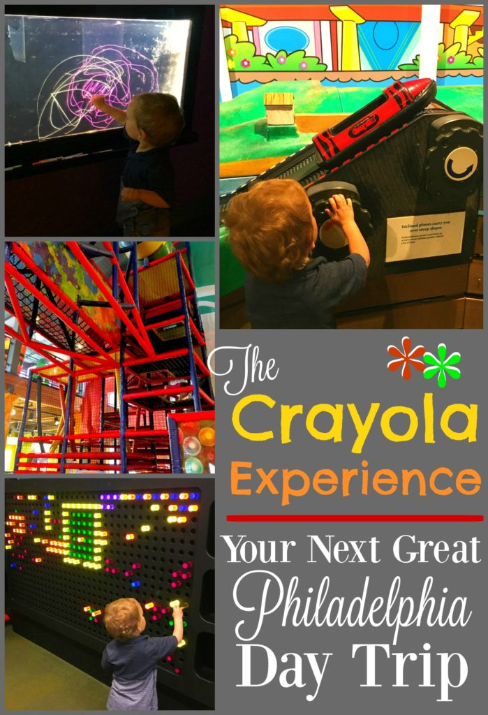 The Crayola Experience is such an amazing Philadelphia day trip for your toddler! If you're in the area, you have to check it out!