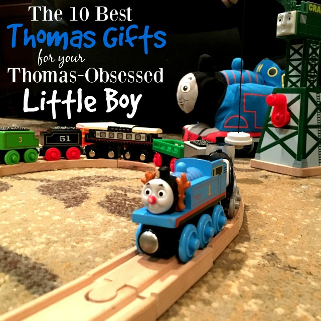 If you have a little boy or girl that is obsessed with Thomas the Train, they will absolutely love these train gifts!