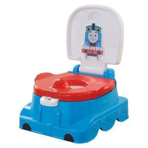This was the only potty my son would use when it was time to potty train! Ended up being the best gift ever.