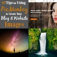 PicMonkey is one of the greatest free tools I've come across as a blogger. Nothing will transform your site like amazing photos! If you're not using PicMonkey yet, you need to start.