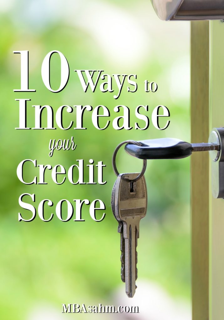 Having a high credit score is so important if you ever want to invest in real estate, or even just take out a credit card! Here are some great tips to raise your credit score to get the best rates possible.