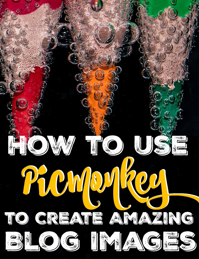 PicMonkey has been one of the best investments that I've made into my blog. If you're looking to make money from blogging, you need to have amazing images and PicMonkey can do that for you!