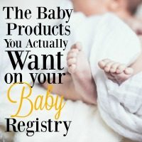 There are so many items you will want to put on your baby registry, but you probably don't need half of them. You do, however, want to have these items on your baby registry!
