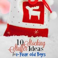 Shopping for 1-year olds can be really tough, but it's so fun when you get the right stuff! This list should come in handy for picking stocking stuffers that your 1-year old will love.