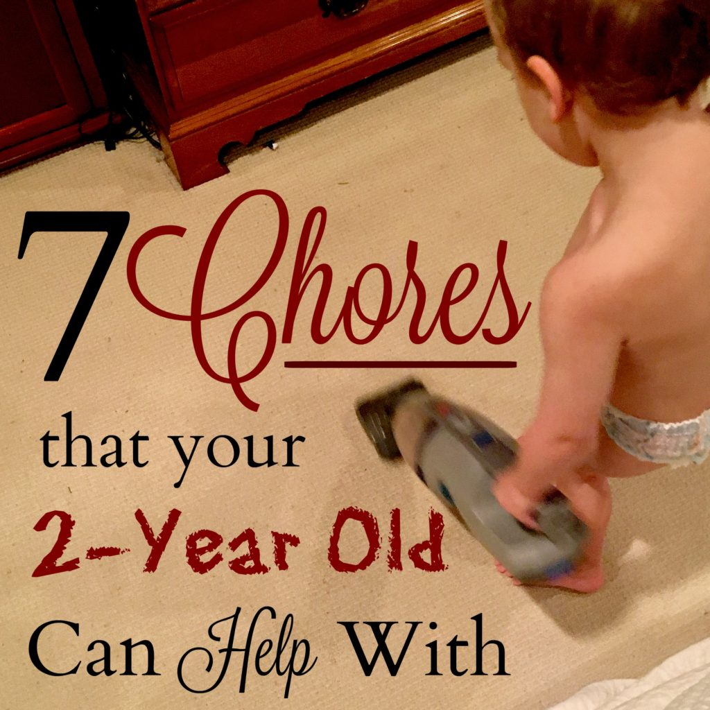 Nothing is better than pulling your 2-year into all of your chores and if you can believe it, they'll actually enjoy most of them! Check out this list to see what you can start with.