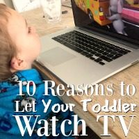 We hear so much about limiting screen time for kids, but there are still a lot of good reasons to consider letting them watch tv!