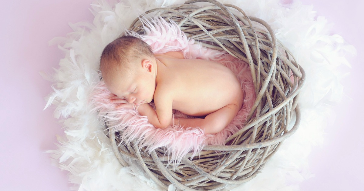 The best easter basket ideas for your newborn girls first easter the best easter basket ideas for your newborn girls first easter mba sahm negle Images
