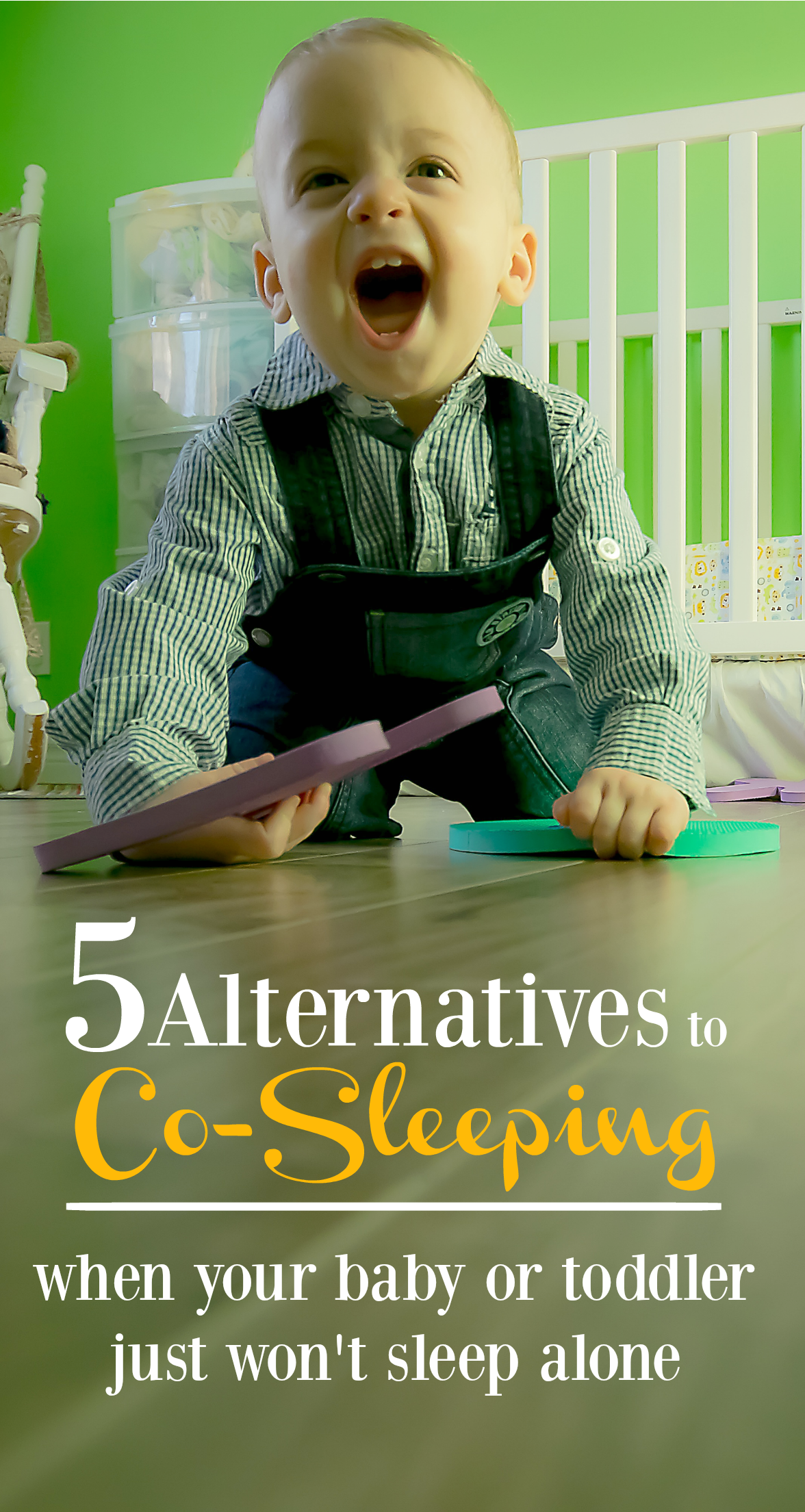 These co-sleeping alternatives provide the best of both worlds - the bonding and comfort of co-sleeping, but the safety that you want your baby or toddler to have while sleeping.