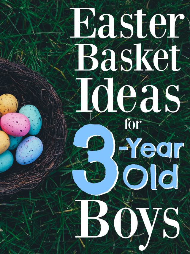 These are the best Easter Basket Ideas for 3-Year Old Boys! Whether you're in need for Easter basket stuffers or inexpensive gifts, this list will help.